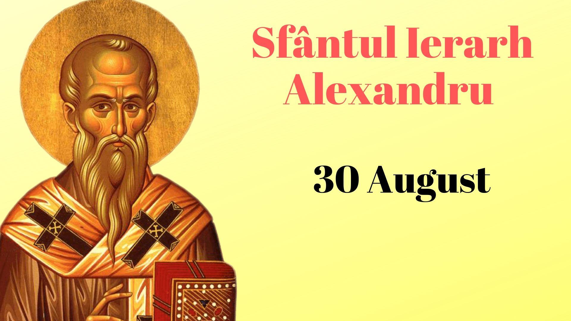 Tradiţii şi obiceiuri de Sfântul Alexandru