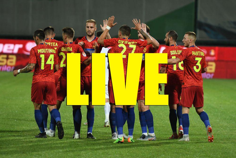 Vitoria Giumaraes - FCSB live stream Pro T și live score AICI! UPDATE