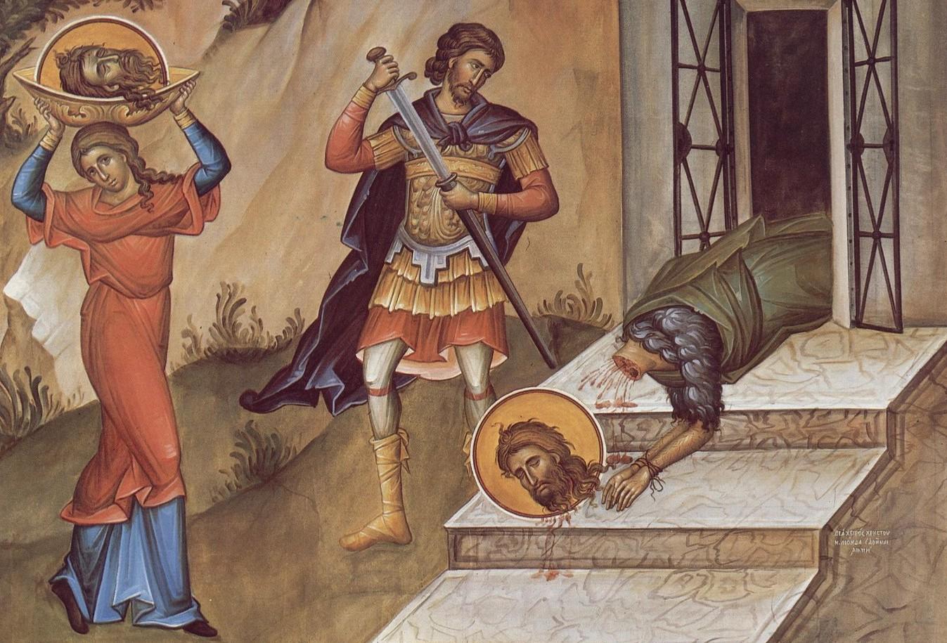 Traditii si obiceiuri ASCUNSE de Taierea capului Sfantului Ioan Botezatorul