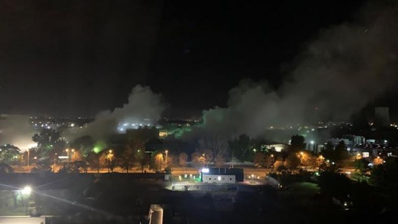 Explozie puternica in Capitala. sursa foto: capital.ro