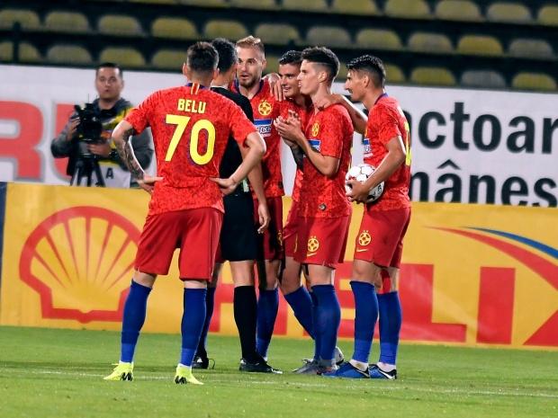 FCSB Mlada scor de 1-0 - s-a calificat cu emoţii în play-off-ul Europa League