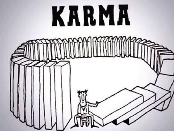 Adevaratul mod in care functioneaza karma
