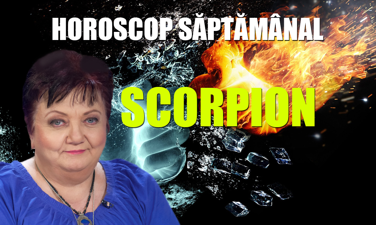 Horoscop Minerva săptămâna 3-9 august 2020 Scorpion