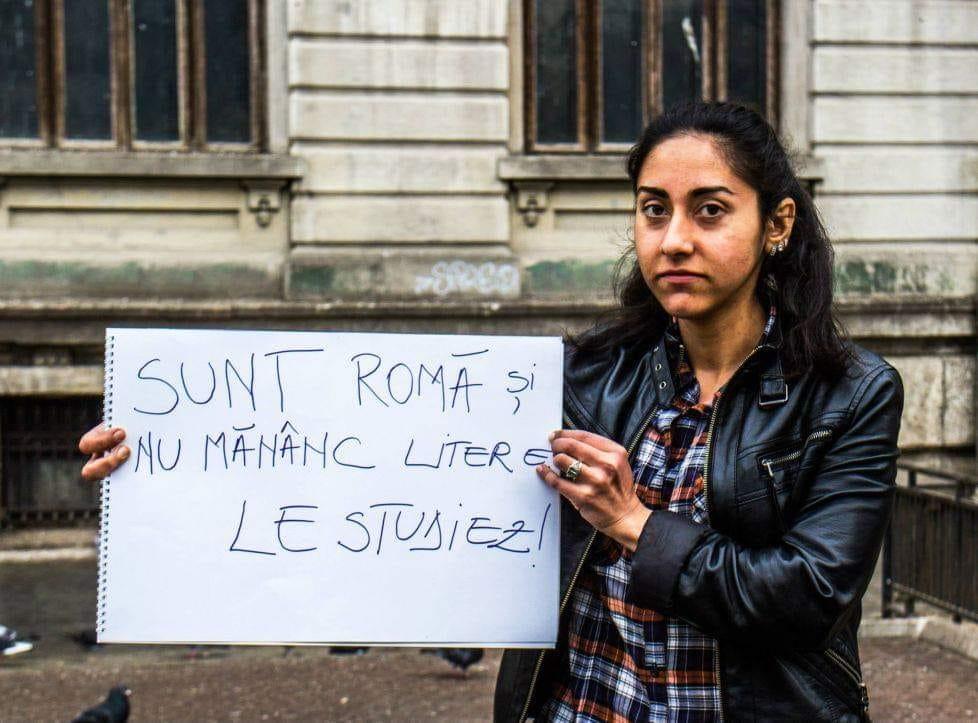 Sunt romă nu mânânc litere, le studiez