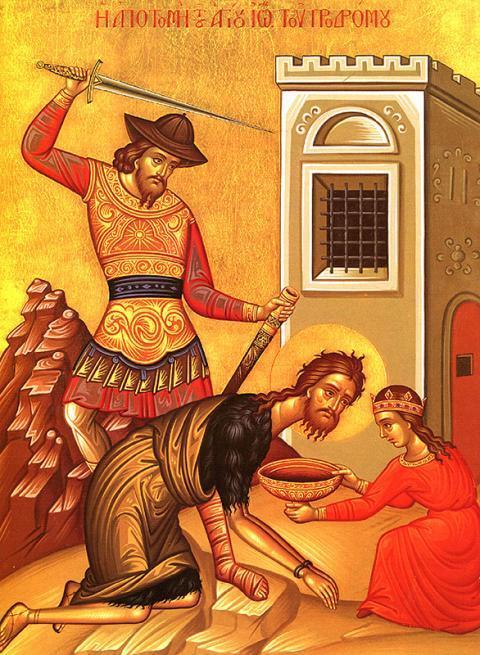Obiceiuri nestiute de Taierea Capului Sfantului Ioan Botezatorul