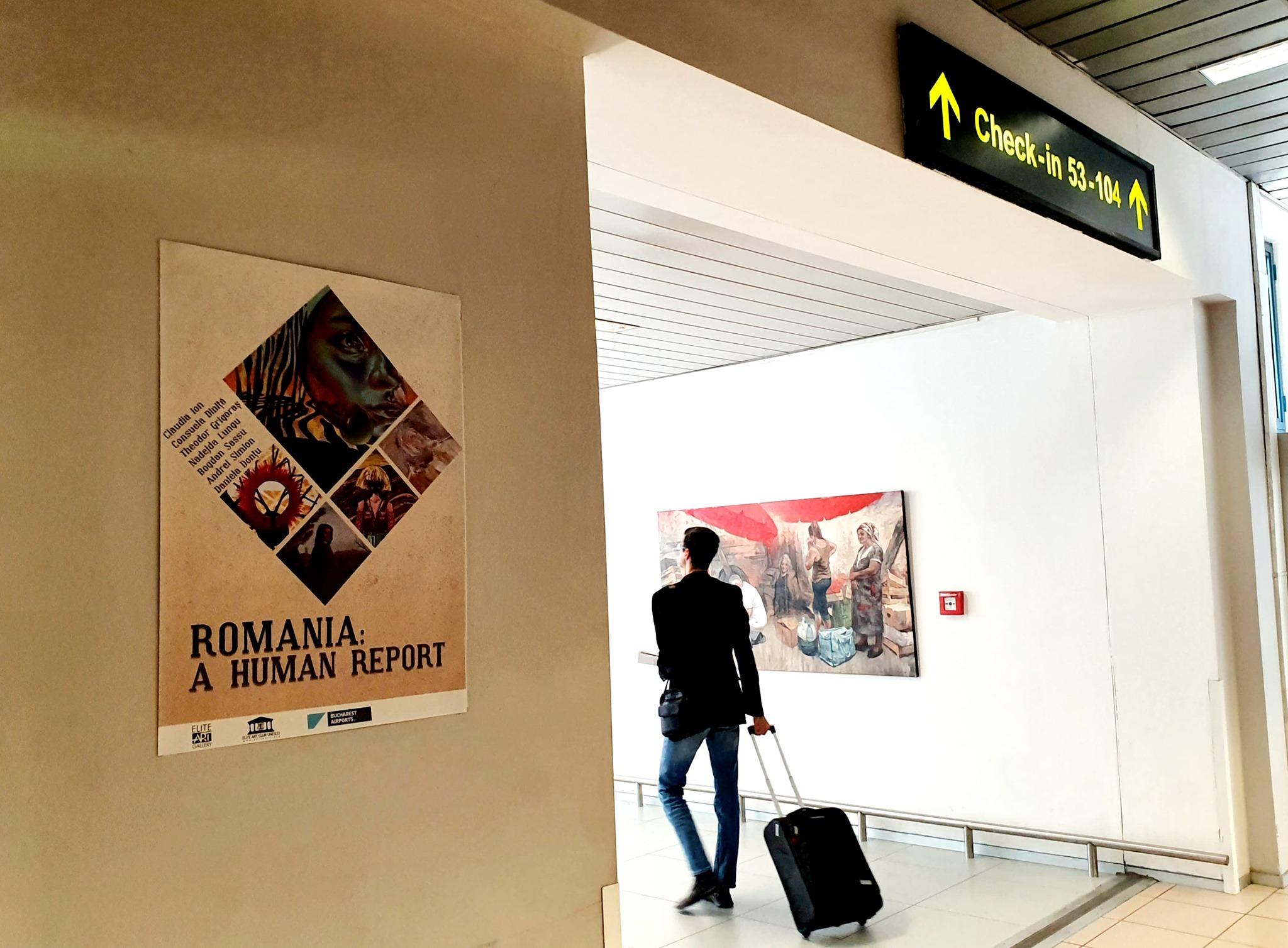 Aeroportul Otopeni vă invită să vizionați expoziția A Human Report