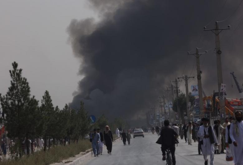 Un nou atentat la Kabul, în cartierul general al NATO