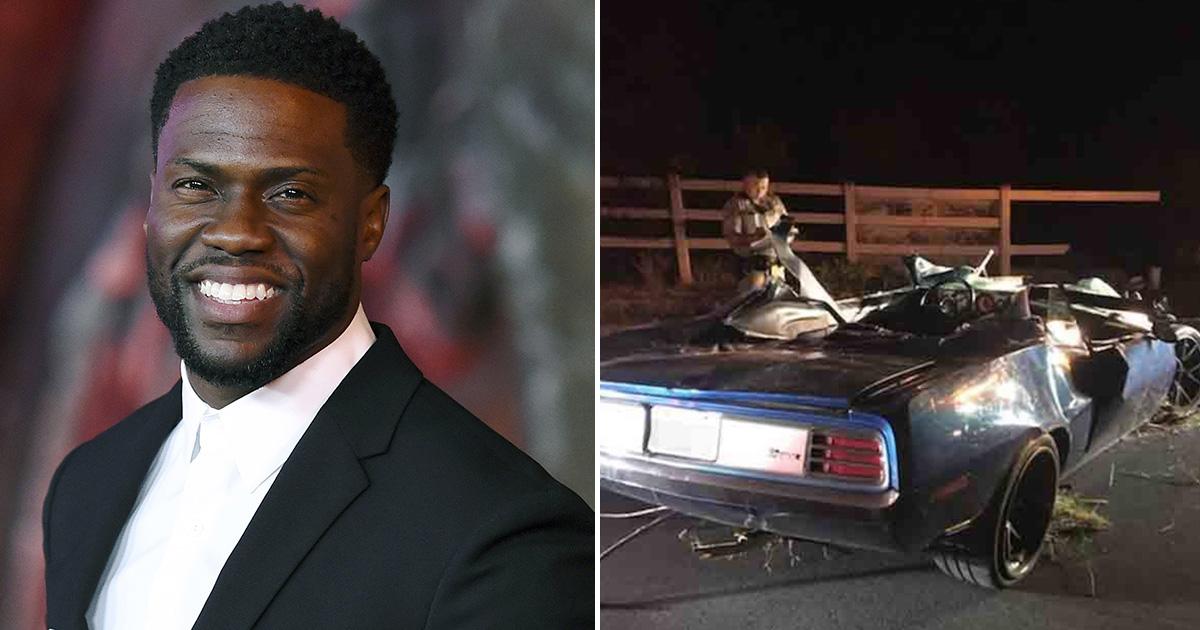 Actorul Kevin Hart a fost grav rănit după un accident brutal de mașină. sursa foto: gossiponthis.com