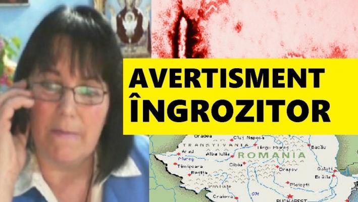 """Maria Ghiorghiu, o nouă previziune de coşmar pentru români: """"Cutremur! E cutremur diseară!"""""""