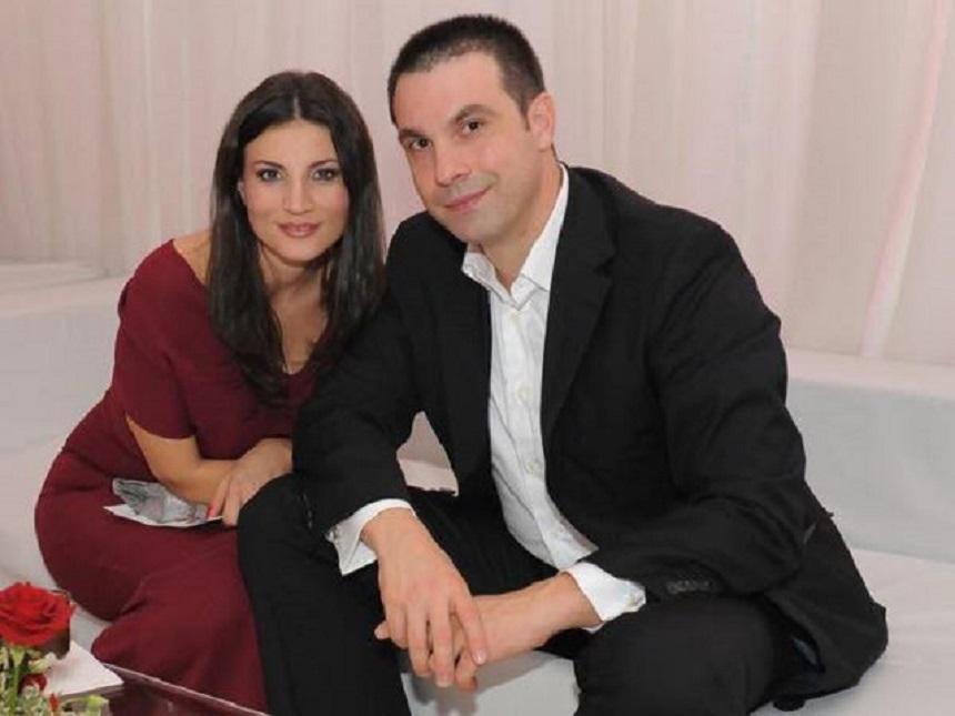 Alexandru Papadopol si fosta sa sotie Ioana Ginghina. sursa foto: spynews.ro