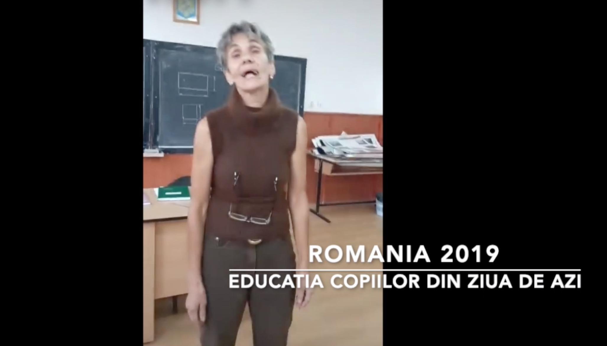 """Scene revoltătoare filmate într-un liceu din Săcele, judeţul Braşov. O profesoară este batjocorită de o elevă: """"Nebuna mea, hai la cimitir, hai la cimitir, să te îngrop puţin!"""""""