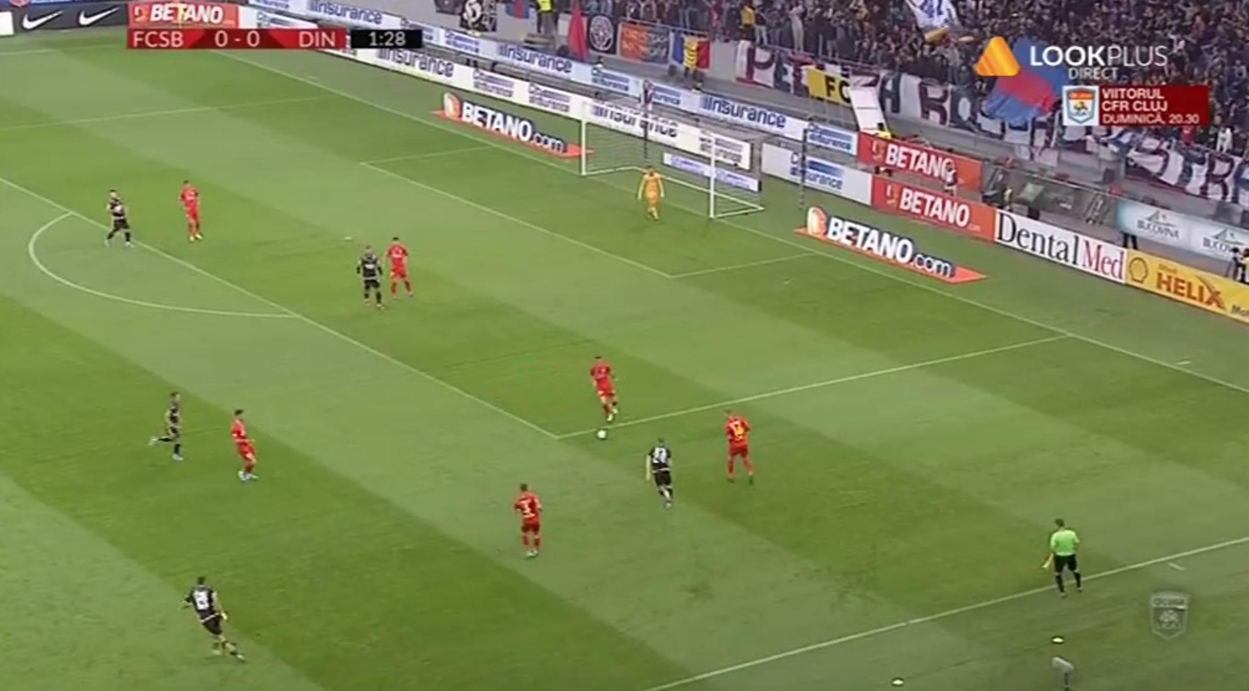 FCSB Steaua - Dinamo derby-ul anului se poate vedea online dar și pe TV