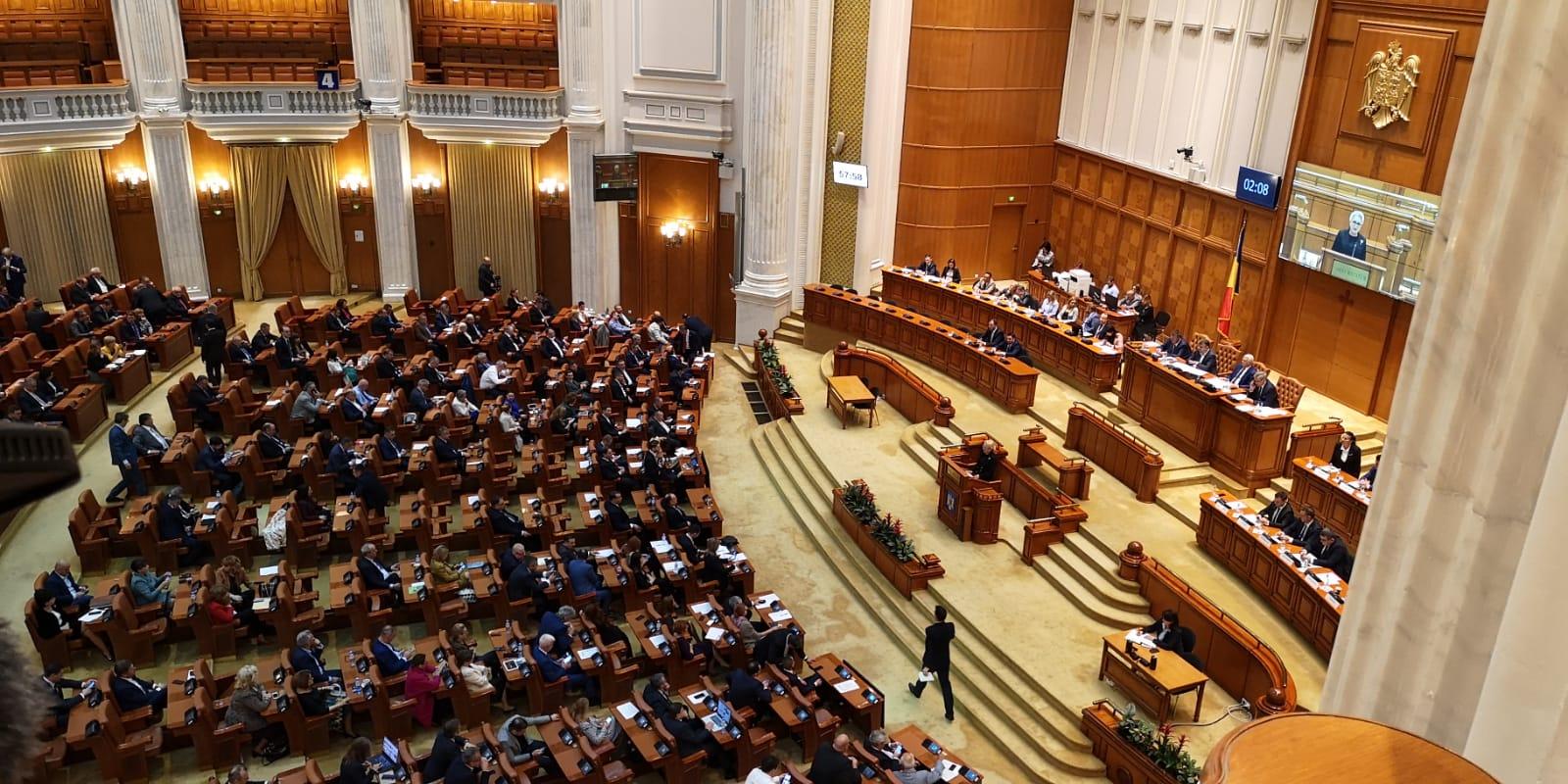 Moţiunea de cenzură a fost adoptată cu 261 de voturi. Guvernul Orban a fost demis. PSD și Pro România, propunere comună de premier