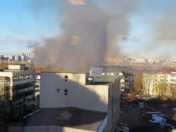Incendiu in Delta Vacaresti. sursa foto: antena3.ro