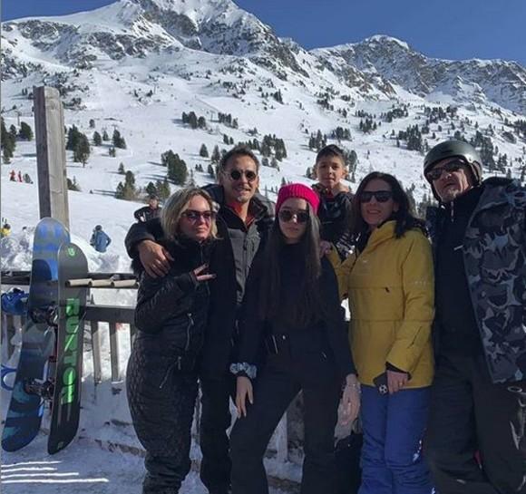 Razvan si familia sa la munte