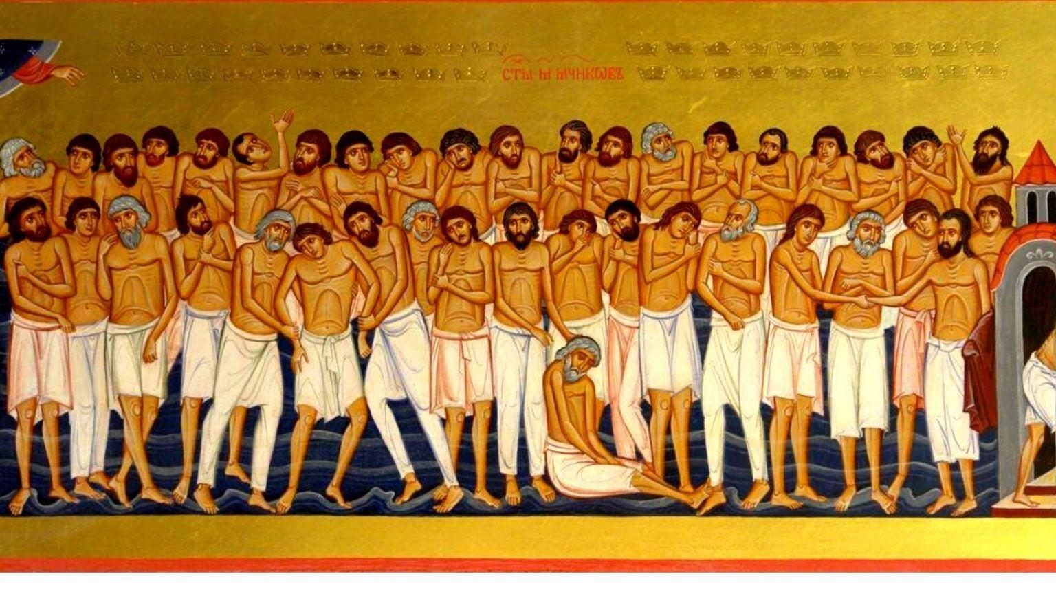 Calendar ortodox 9 martie 2020. Sfinții 40 de Mucenici