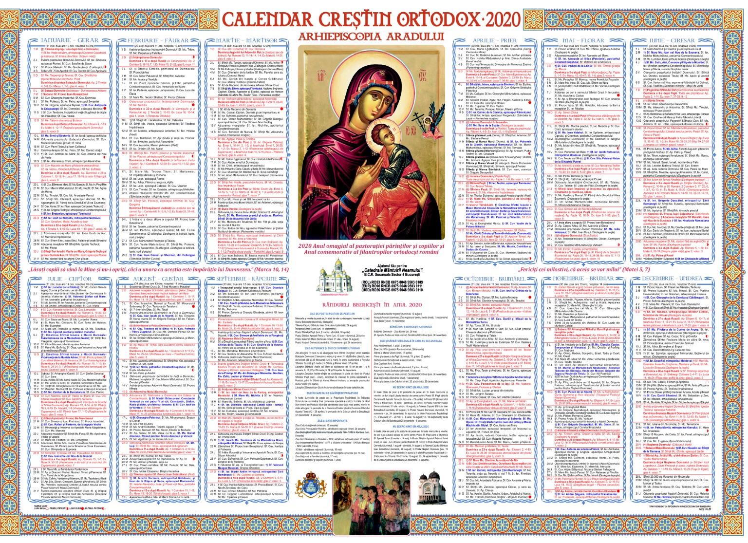 Calendar Ortodox 28 martie 2020, sărbătoare mare Sfantul Ierarh Iacob Marturisitorul; Pomenirea mortilor