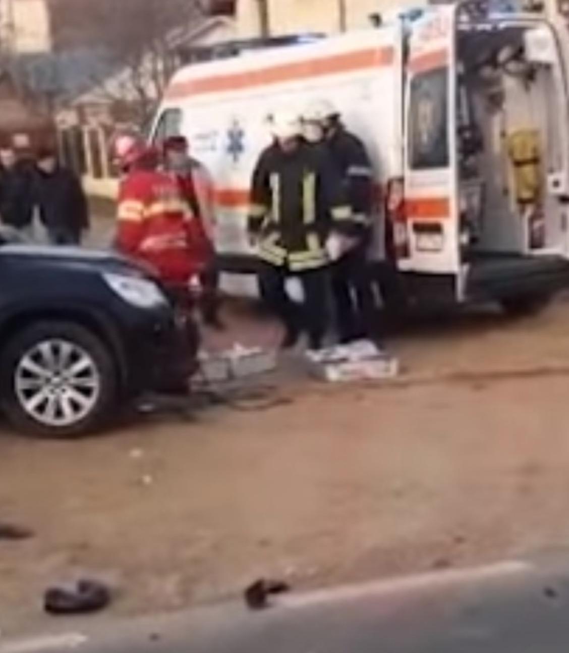 Planul roșu a fost activat, accident grav în Vaslui 2 morți și șase răniți