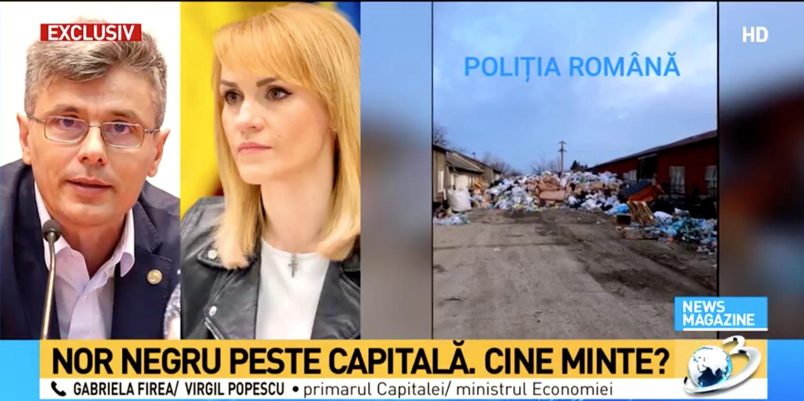 Acuzații explozive între Firea și Popescu, primarul Minte de fiecare dată