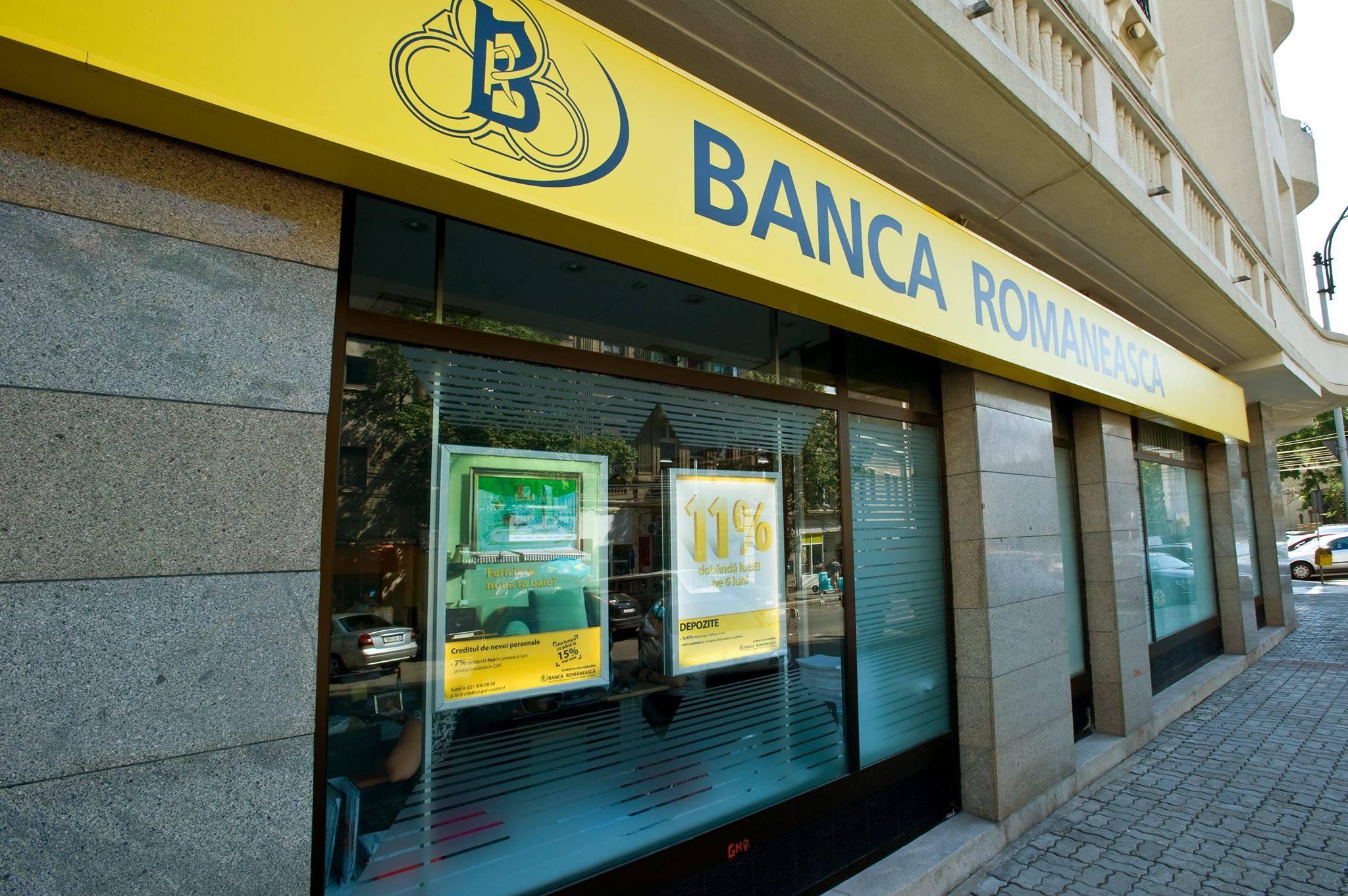 Banca Românească suspendă temporar plata ratelor și oferă acces gratuit la internet banking