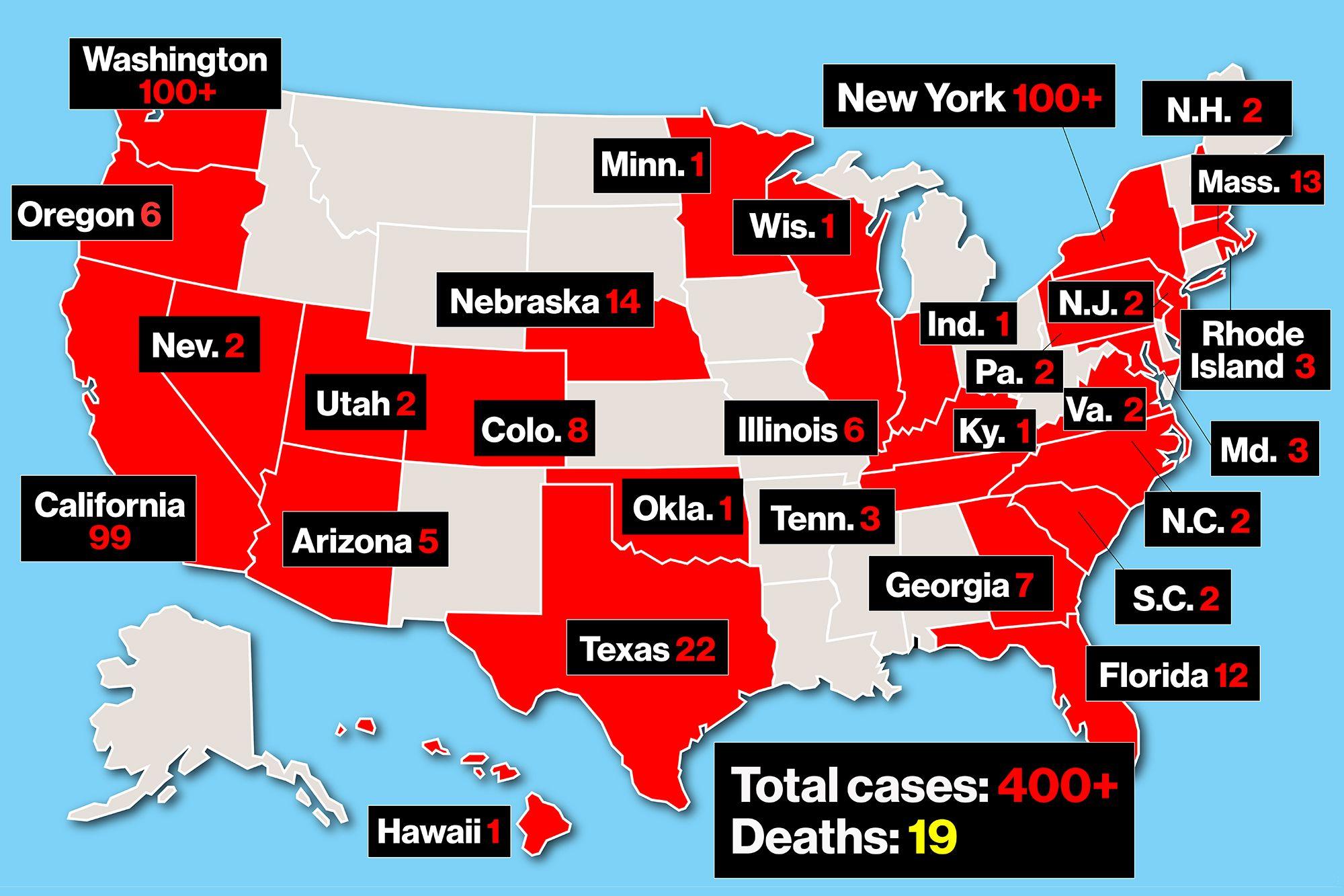 Bilanţul epidemic a ajuns la 3.170 de morţi în Statele Unite