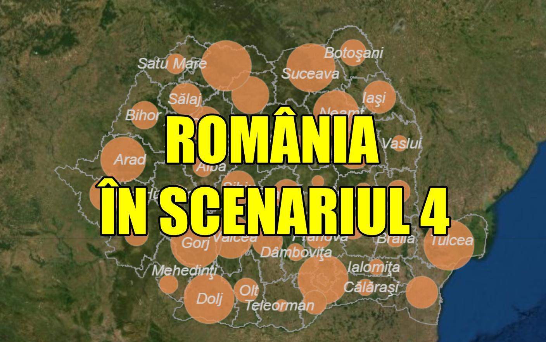 România a intrat în scenariul 4! Bilanțul din 30 martie este devastator
