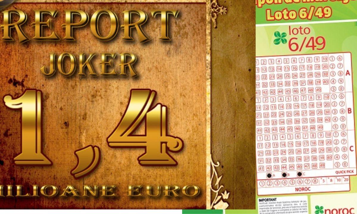 LOTO duminică 15 martie, report la 6/49 și Joker de 1.8 milioane euro