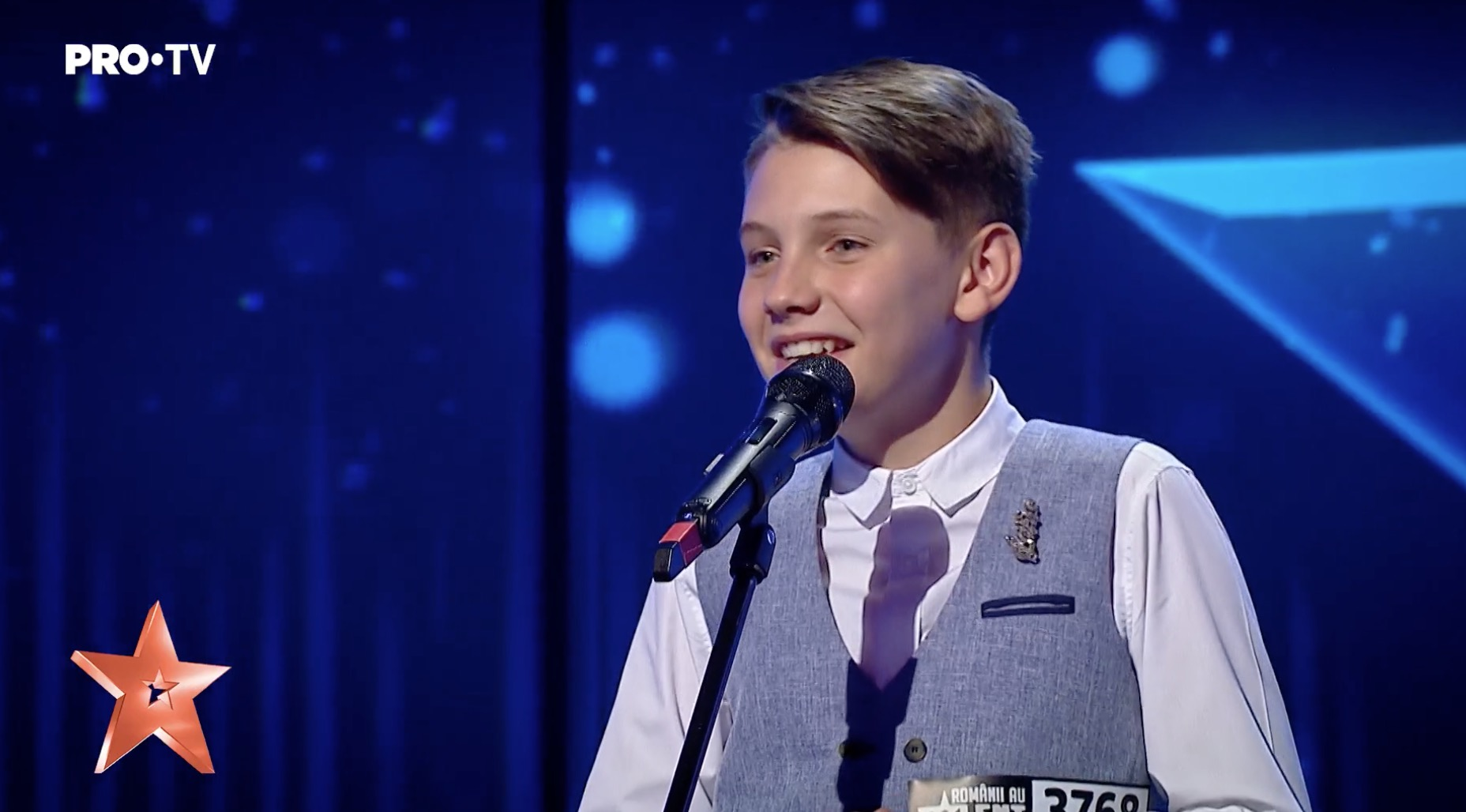 Mihai Tigaret Romanii au talent, Golden Buzz de la Andra