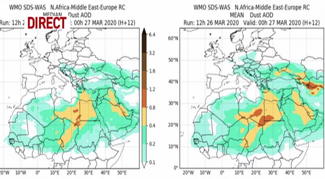 Alertă: Nu deschideți geamurile! Nor de praf asiatic deasupra României