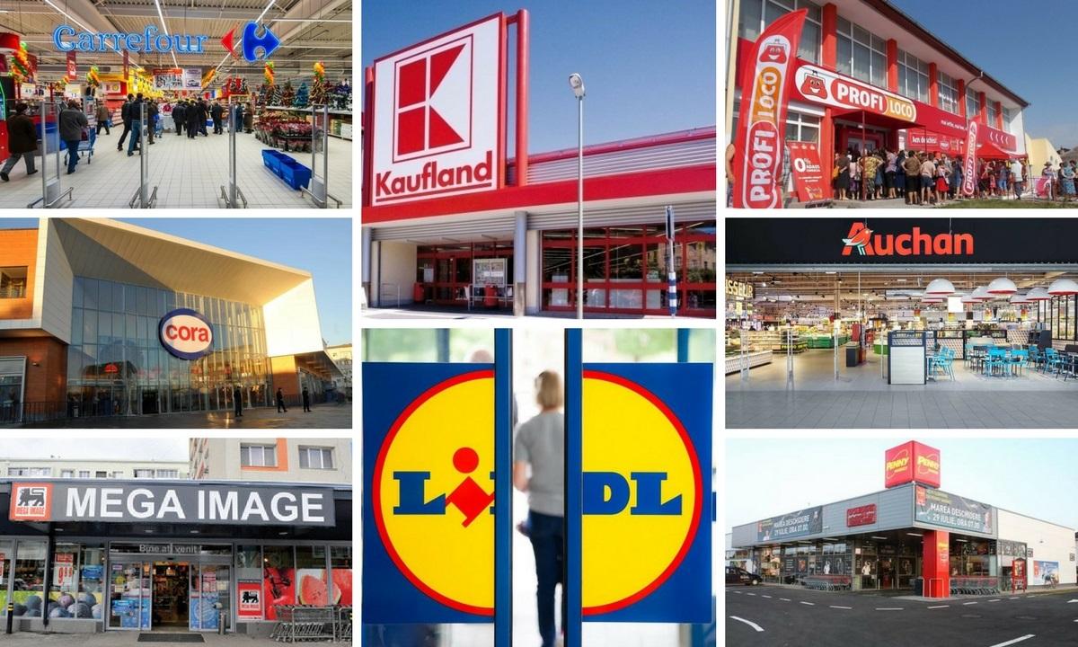 Nu se închid magazinele, hypermaketurile, supermaketurile sau alimentările. Kaufland, Carrefour, Profi, Lidl, Auchan, Mega Image, Cora, Penny Market.