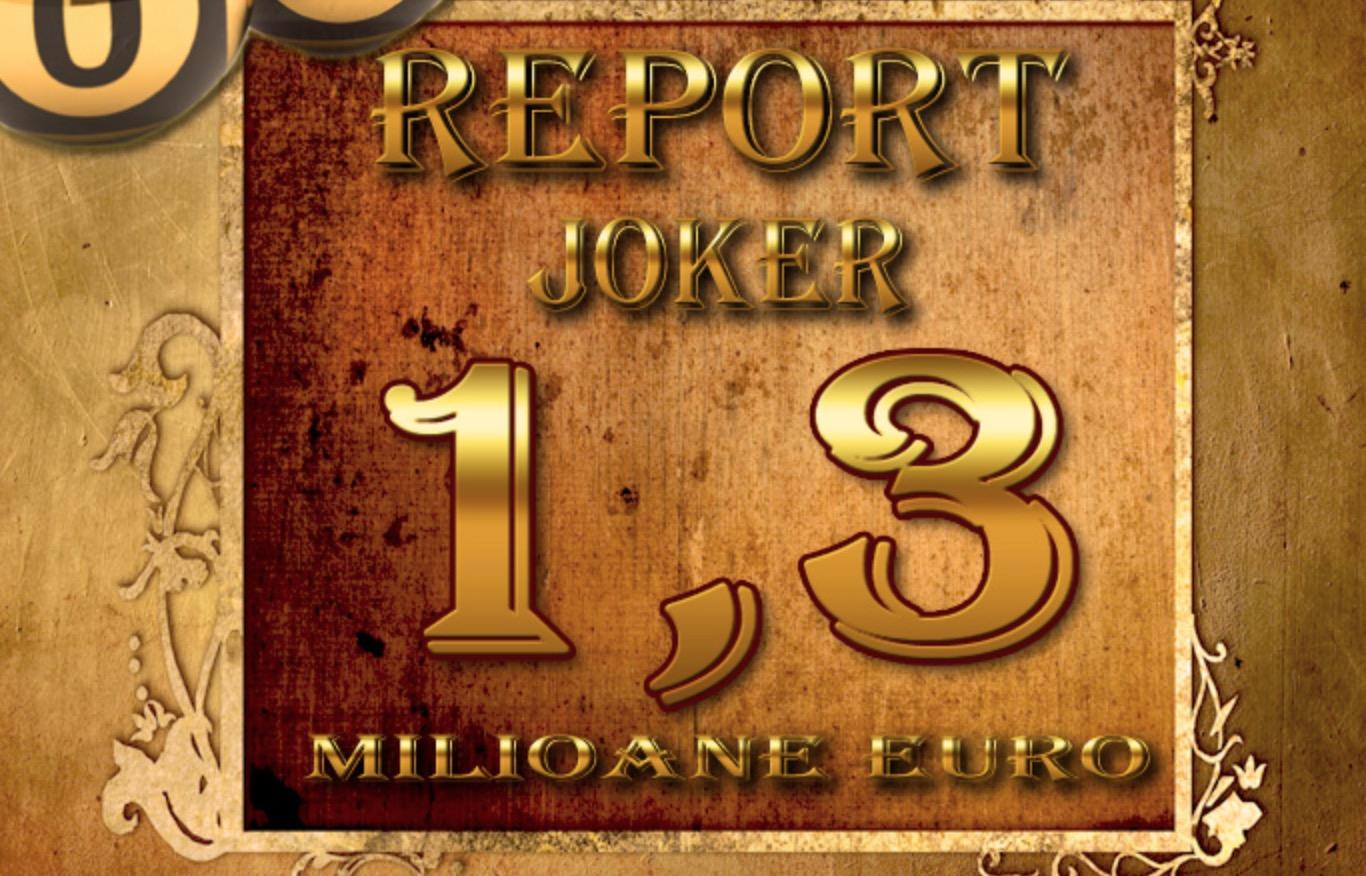 Report la Joker și trageri duble pe 8 martie 2020
