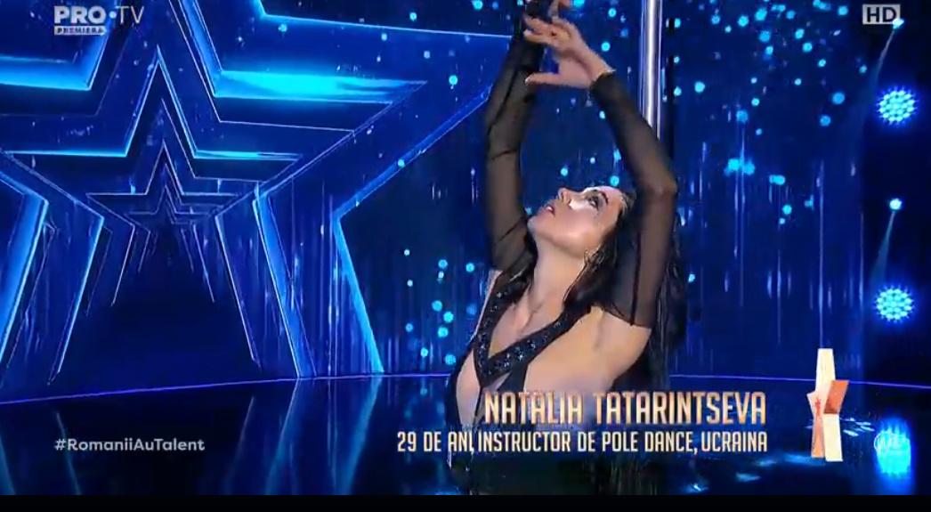 Natalia Tatarintseva, 29 de ani ani, Ucraina, instructor de pole dance