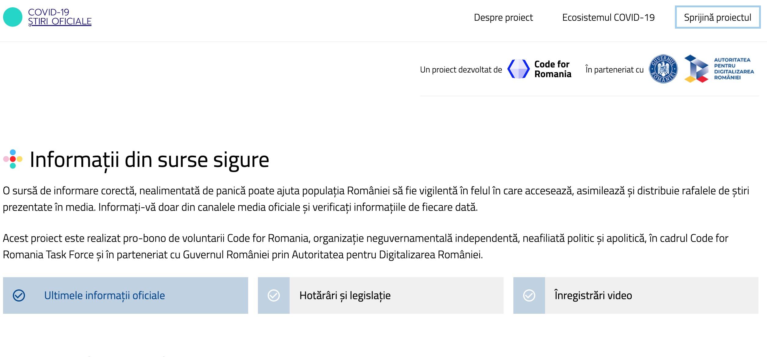 stirioficiale.ro Guvernul și-a lansat site de știri!
