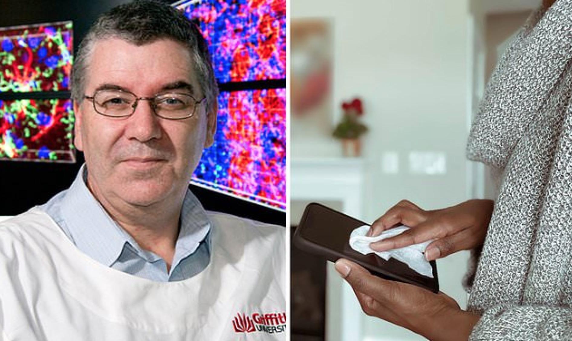 Coronavirus trăiește 9 zile pe telefonul mobil. Ce trebuie să facem