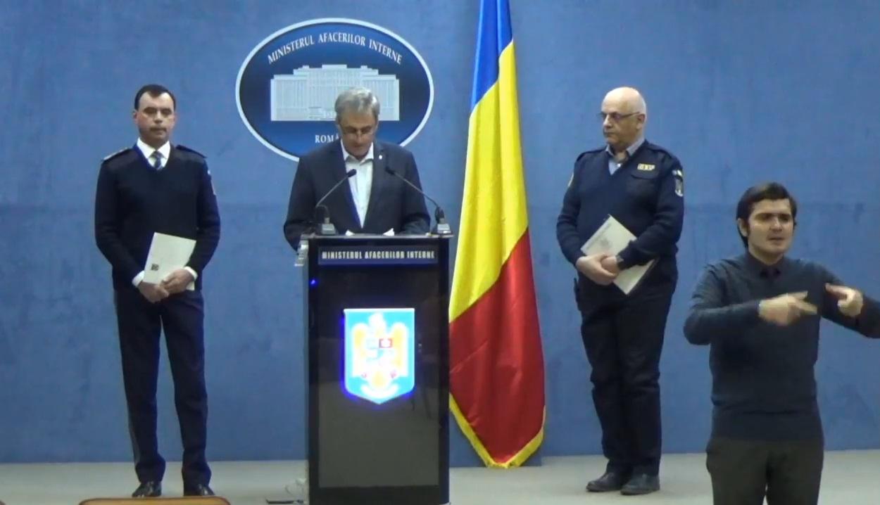Declarații de presă, Raed Arafat, Marcel Vela și Bogdan Despescu