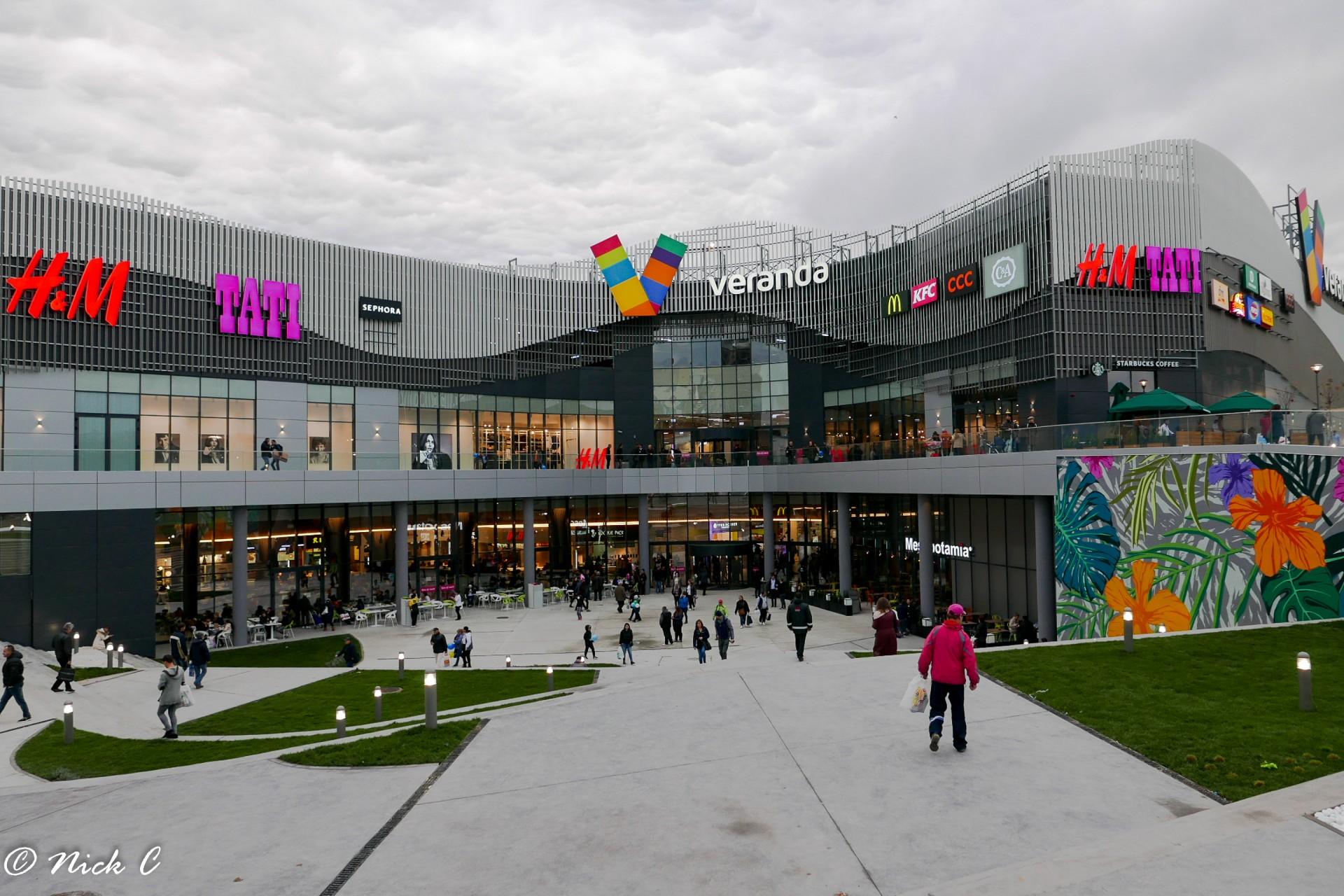 Alertă cu bombă la Verdanda Mall din București, apel disperat la 112