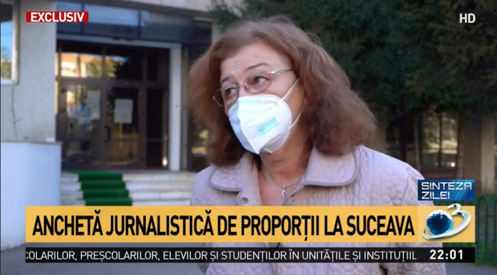 ANCHETĂ Antena 3 la Spitalul Suceava, epidemiolog: Nu credeam că o să vad în 2020 așa ceva