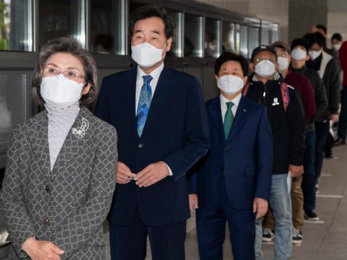 Coreea de Sud, alegeri în timpul pandemiei