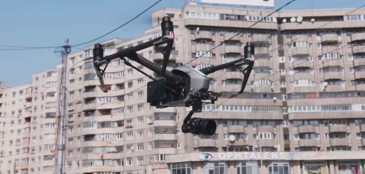 Clujul, primul oraș monitorizat cu drone