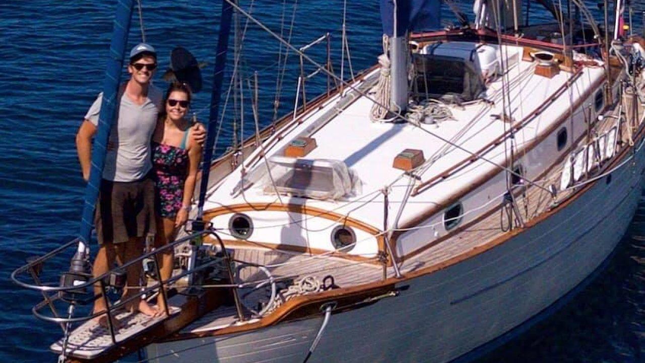 Povestea cuplului de navigatori: nu știau de pandemie