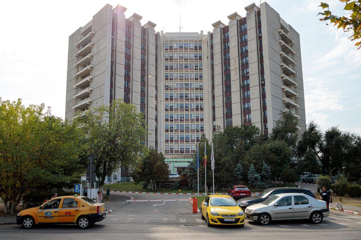Spitalul Universitar din Capitală: au depistați pozitiv la coronavirus 80 de pacienți și 39 de cadre medicale