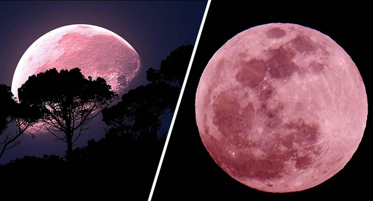 SuperLuna Roz din 8 aprilie, fenomen deosebit astronomic și astrologic.
