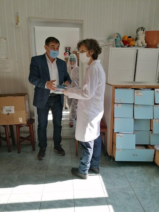 Omul de afaceri Iulian Vladu, gest impresionant pentru medici și jandarmi