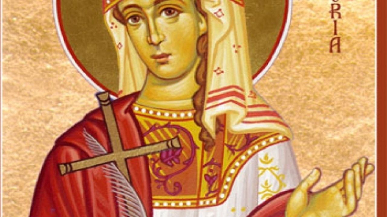 Calendar ortodox 13 mai. Sfânta Muceniță Glicheria