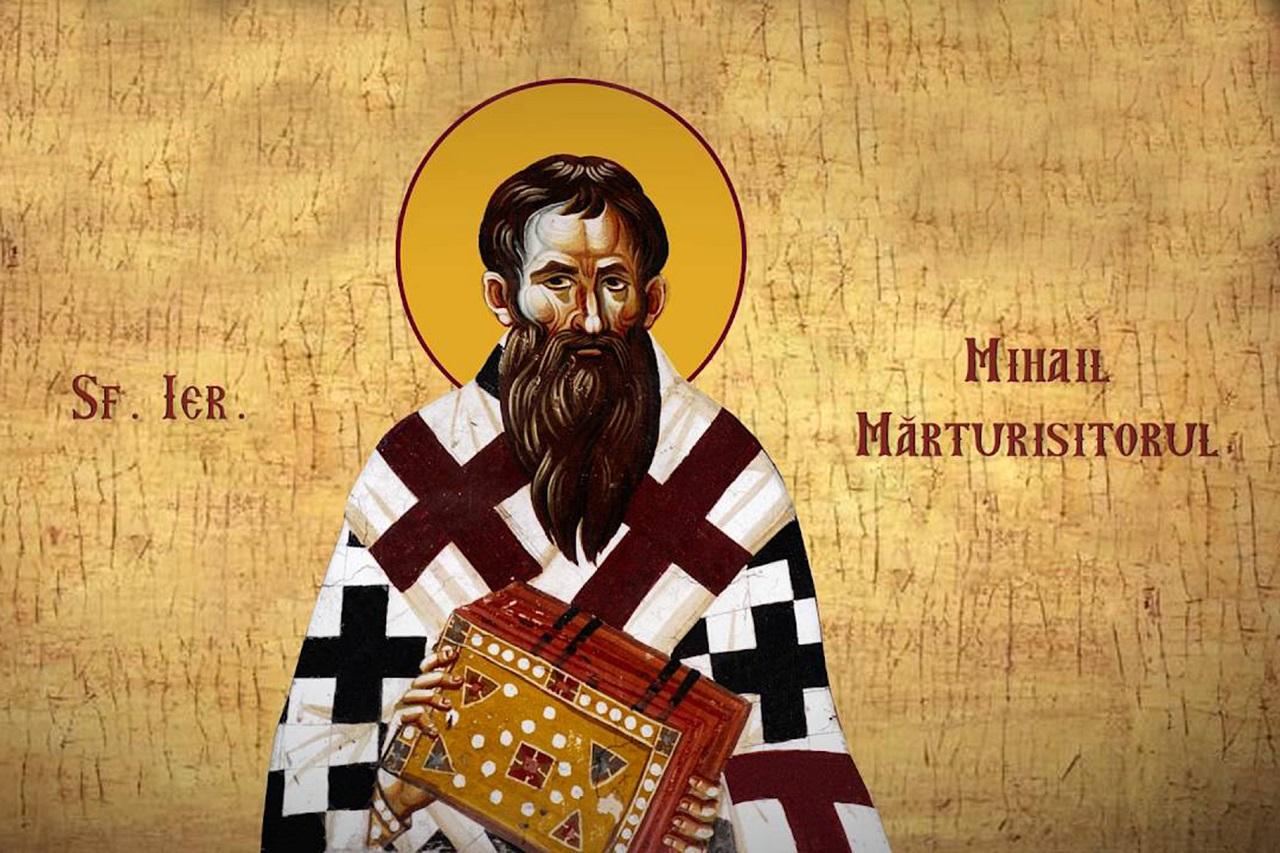 Calendar ortodox 23 mai 2020. Sfântul Cuvios Mihail Mărturisitorul, episcopul Sinadei