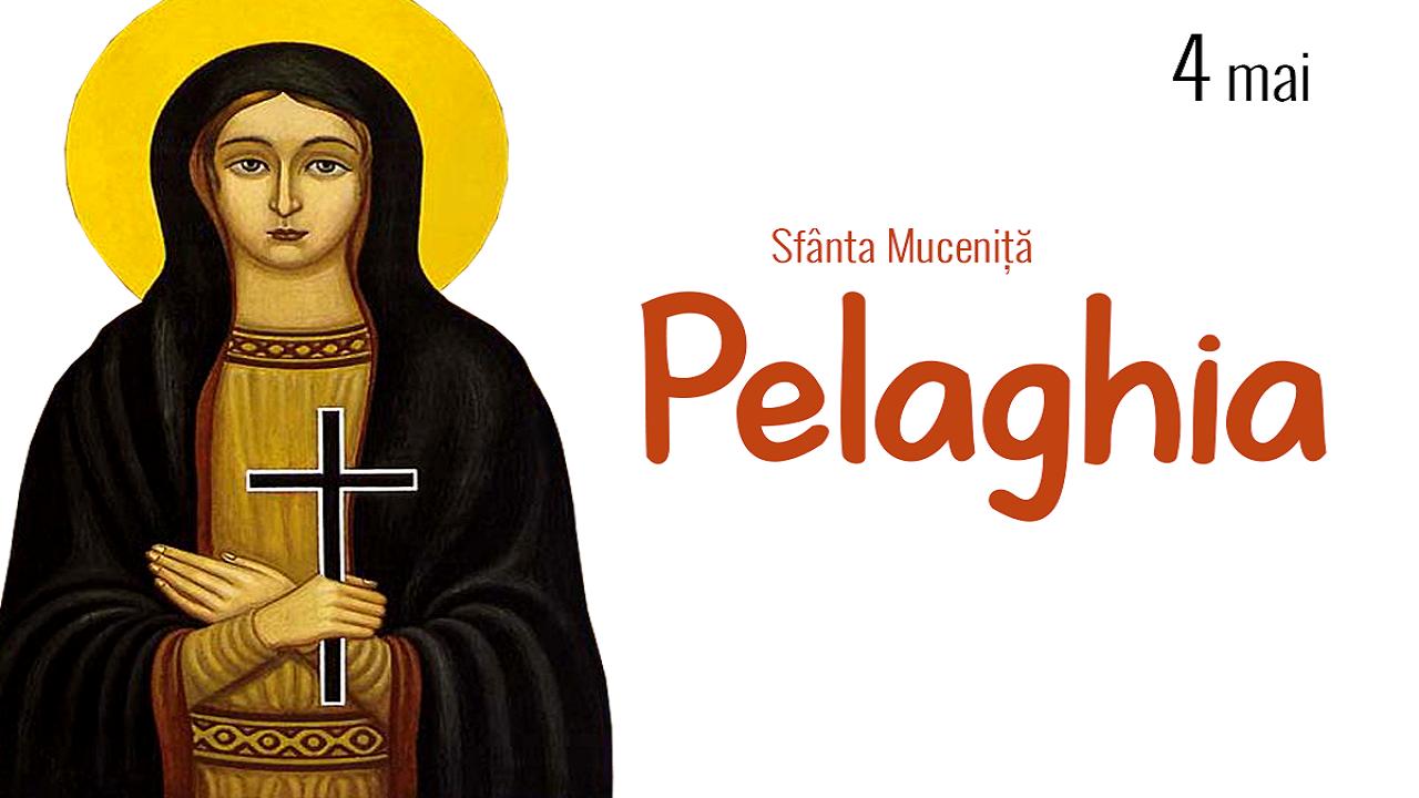 Calendar ortodox 4 mai. Sfânta Pelaghia cea nebună după Hristos