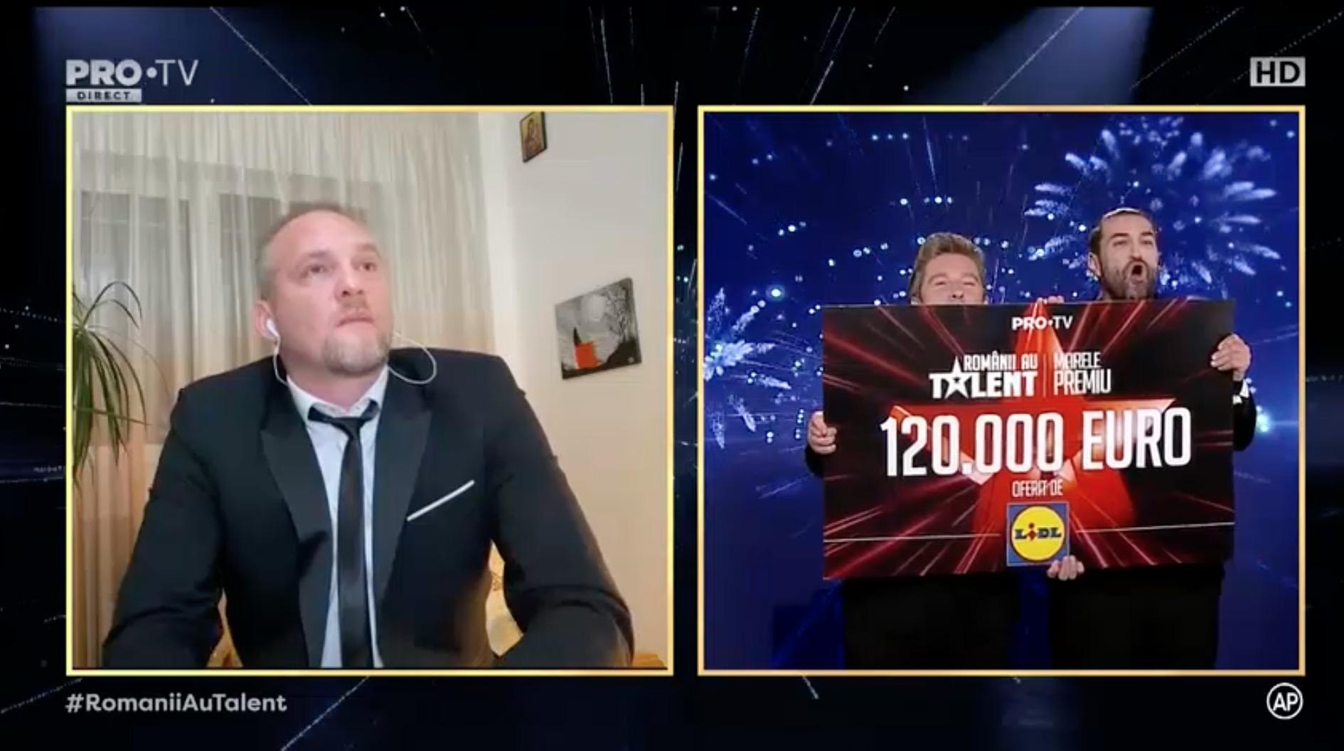 Câștigătorul Românii au talent 2020: Radu Palaniță. Siena, Vlad Ciobanu premiu de originalitate. Clasament
