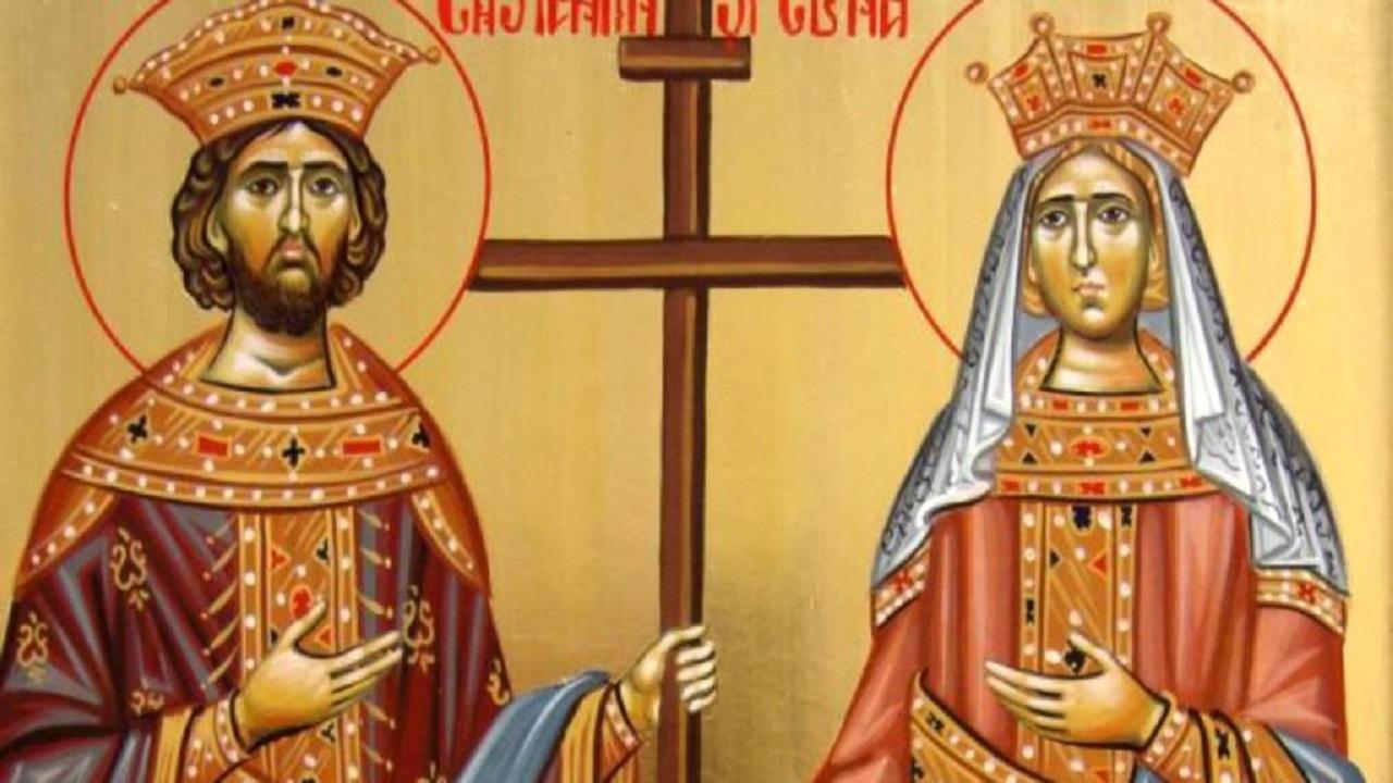 Cine au fost, de fapt, Sfinții Constantin și Elena