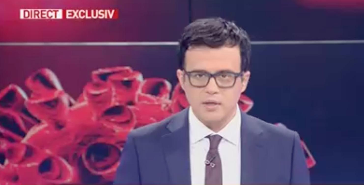 Scandal la Antena 3 Cataramă la enervat pe Gâdea, care i-a numit pe români lași și fricoși
