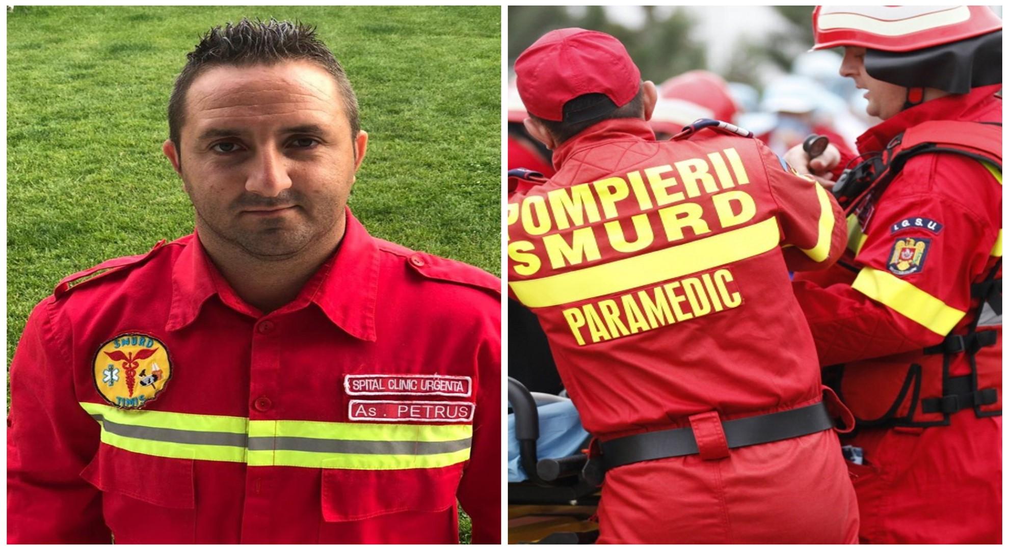 """Un asistent SMURD a fost trimis să-și salveze propriul fiu: """"Vorbeam întruna, doar ca să nu închidă ochii!"""""""